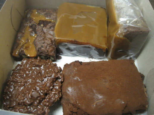 Sweet Olenka's brownies & clusters